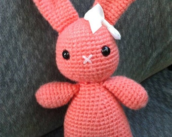 Super cute amigurumi bunny rag doll Easter bunny