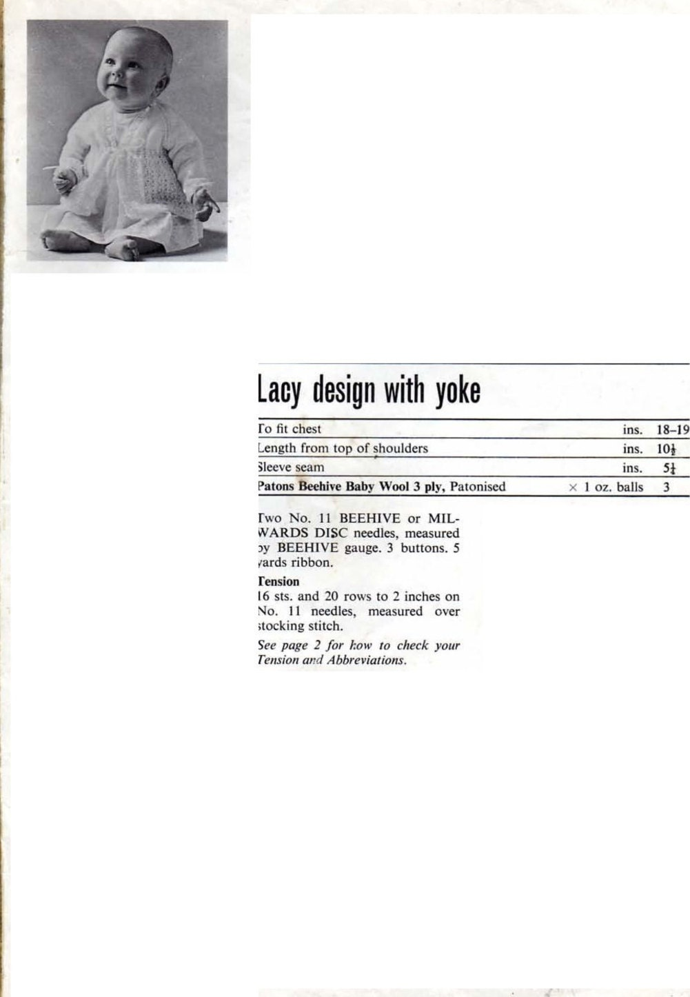 Magnificent 3 Ply Knitting Patterns Component - Sewing Pattern for ...