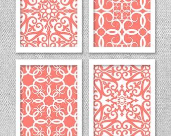 Printable Art, Coral Art, INSTANT DOWNLOAD, Coral Decor, Printable Wall Decor, Printable Wall Art, Art Prints, Wall Decor, Coral Art Prints