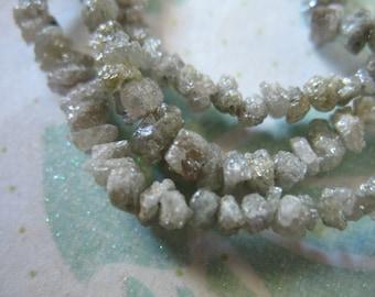 5-20 pcs, ROUGH DIAMOND Raw Diamond NUGGETS, 2-3 mm, Shades of Gray Grey Silver, april birthstone brides bridal organic gems ddg 23