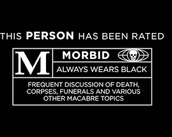 Rated M for Morbid Funny Funeral Director Shirt