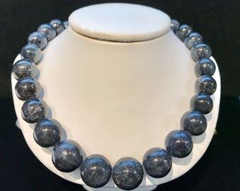 Sapphire Bead Necklace SAPB-2