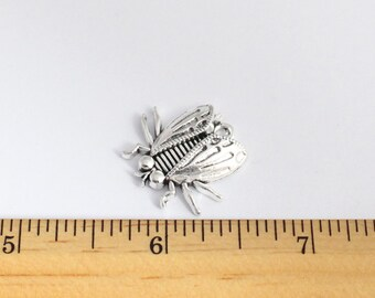 3 Fly Pendant - Fly Charms - EF00266