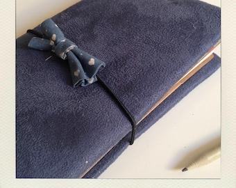 Buldori - Denim Blue Organizer + - traveler notebook - Bullet journal - fauxdori - midori notebooks