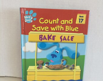Count and Save with Blue, Blues Clues counting book, Blues Clues Book , Blue's Clues Book