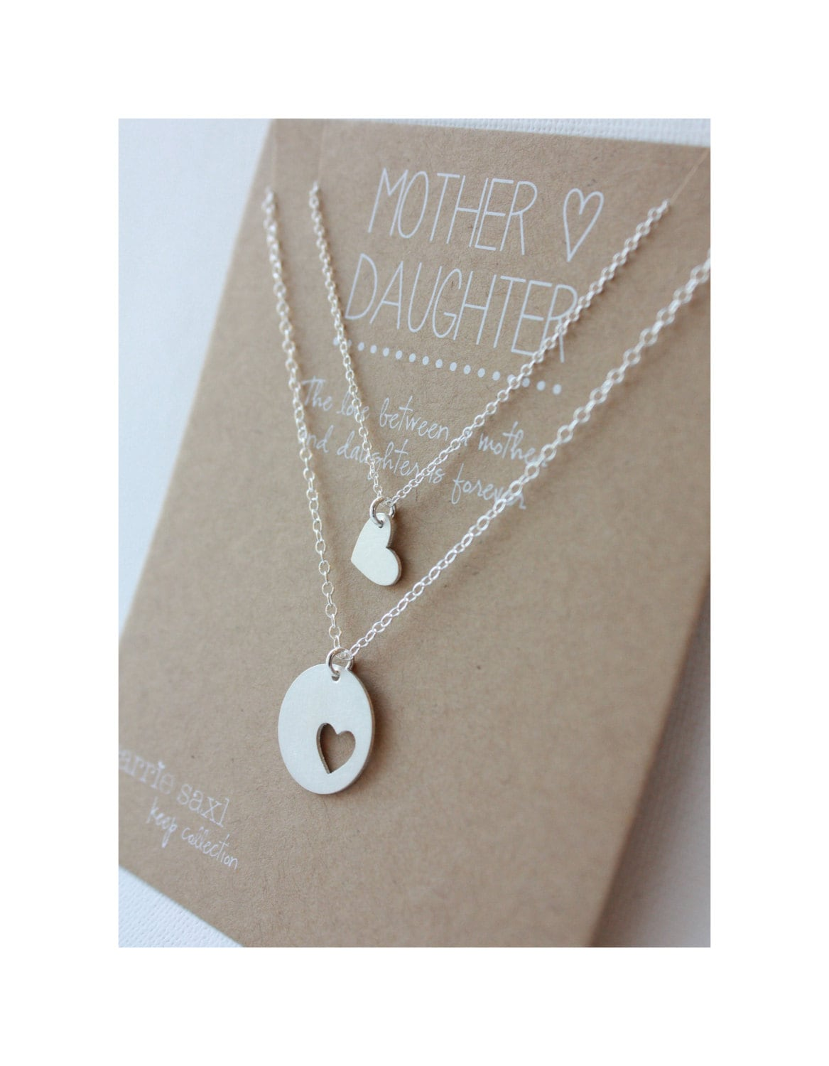 Mother daughter necklace set mom jewelry gift mother zoom aloadofball Images