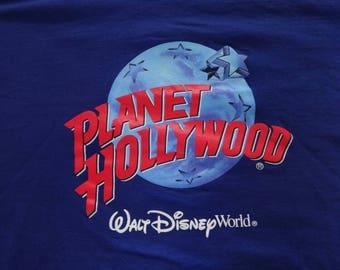 Vintage Planet Hollywood shirt.
