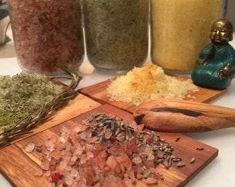 Himalayan Bath Salts • Autumn Garden