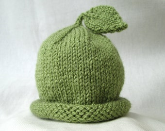 Made To Order: Baby hat, Choose size and finish.