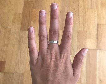 I adore thee ring