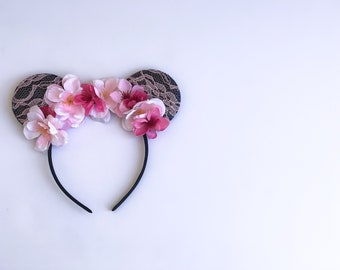 Lace Romantic Minnie Ears