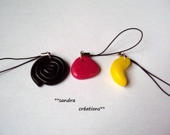 strap-jewelry laptop licorice spiral strawberry or banana