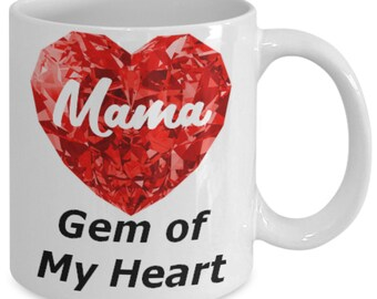 Mama Birthday Gift Mama Gift for Mama Mug for Mama I Love Mama Best Mama Ever Mom Jewelry Mom Necklace Mom Birthday Mom