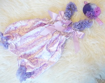 satin bloomers  -baby photo props