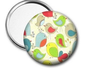 Birdies Pocket Mirror, Bird Mirror