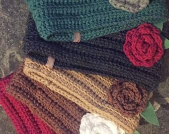 Girls cowl scarf
