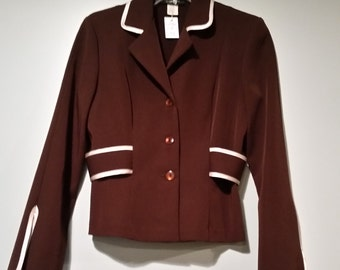 Vintage B. Moss Brown Jacket