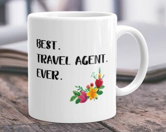Travel Agent Gift Travel Agent Mug Travel Agent Cup Best Travel Agent Coffee for Travel Agent Mom Travel Booker Gift Travel Booker Mug