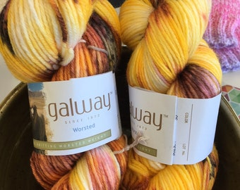 Original Hand-Dyed Yarn - Alberta Sunset