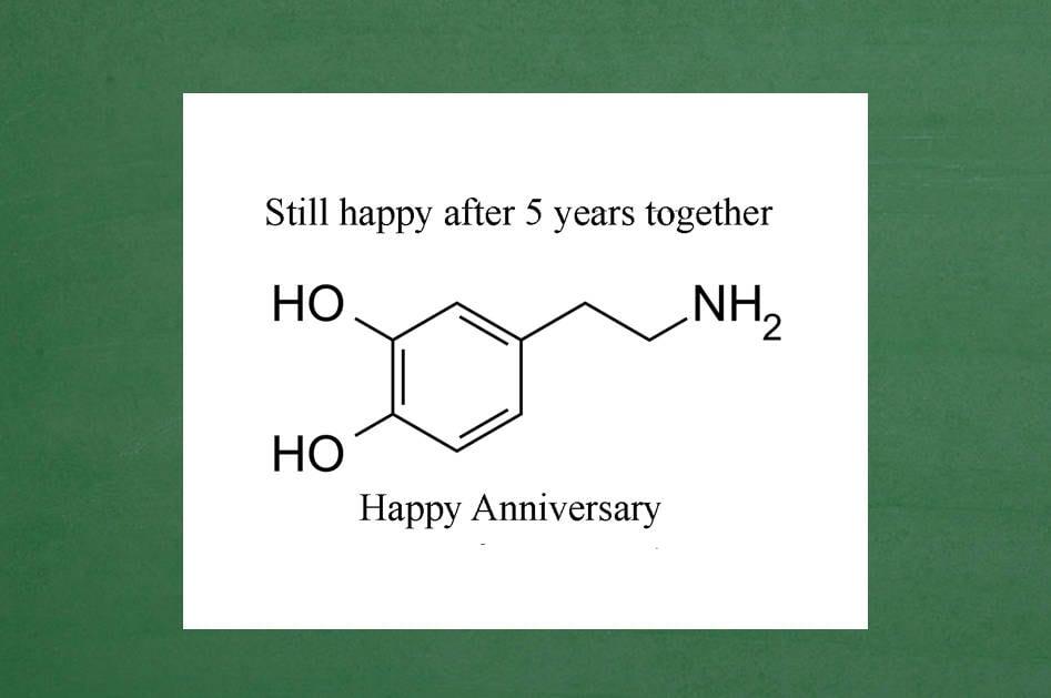 5. Jahrestag 5. Jahrestags-Karte Happy 5. Jubiläum 5 Jahre