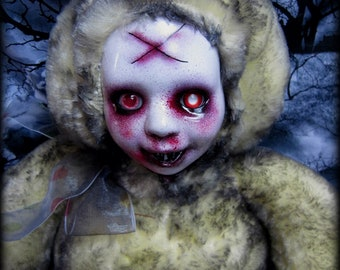 Doll 349 Undead yellow Bunny