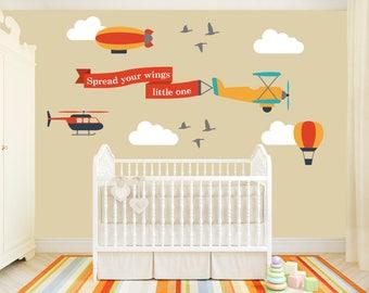 Spread Your Wings Nursery Wall Art