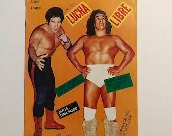Rare 1987 Lucha Libre Magazine Issue Number 1224