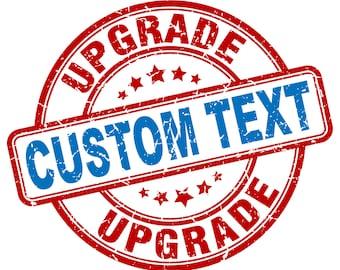 Custom Upgrade Listing - 20