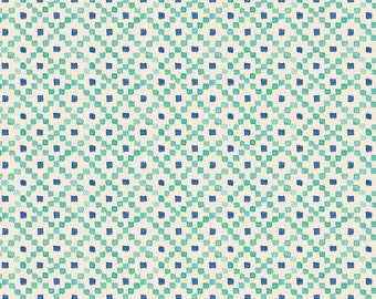 HALF PRICE SALE!!  Wildwood by Ana Davis blend fabrics Devon in Blue
