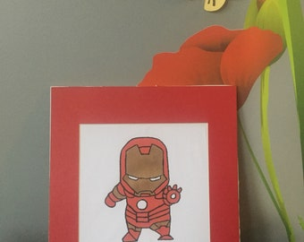 Mini Iron Man - Avengers Portrait