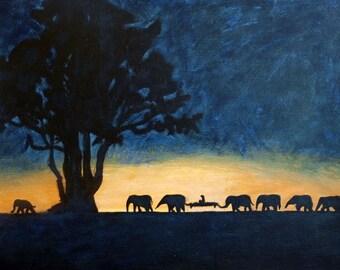 Safari of Dreams -Original Painting