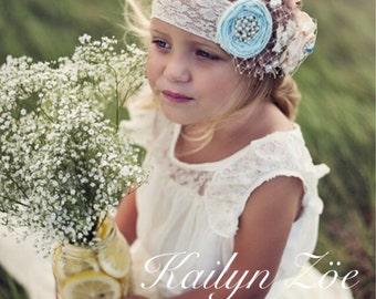 The ORIGINAL Olivia Vintage Beige Flower Girl Lace Dress, made for girls, toddlers, infants, ages 2T,3T,4T,5T