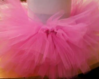Pink tutu onesie