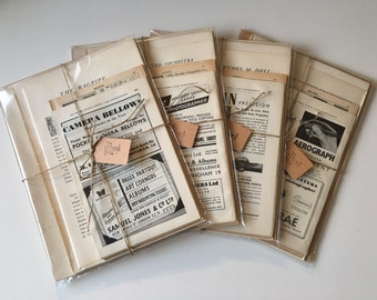 Vintage Old Rare Book Pages for Crafts