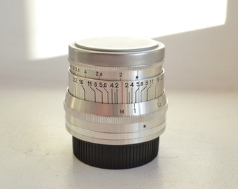 JUPITER-8 2/50 Russian Lens M39 Fed Leica Sony NEX S/N 6071424 1960 year!