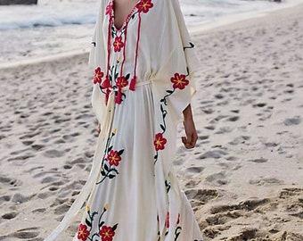 Boho Dress, Bohemian Dress Maxi, Hippie Dress, Wedding Dress.