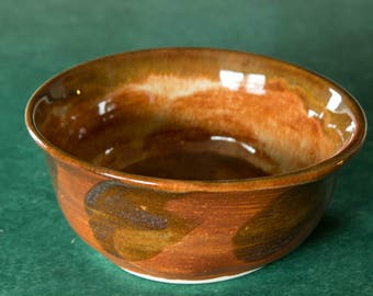 Porcelain Bowl for Cereal or Ice Cream Handmade