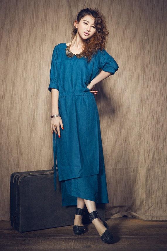 eb5aeed2758 Linen Dress ...