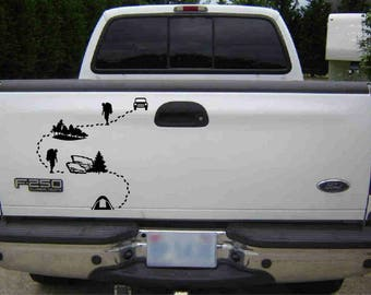 various decal sets  to  create your own trail map