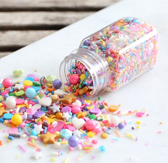 edible sprinkles for cupcakes