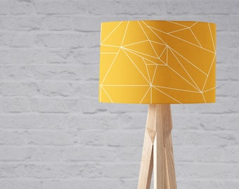 Lampshade etsy yellow lampshade keyboard keysfo Gallery