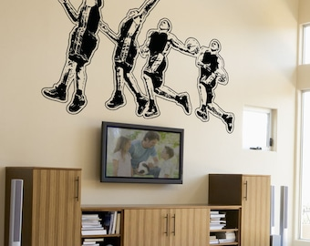 Vinyl Wall Decal Sticker Dunking 5081B