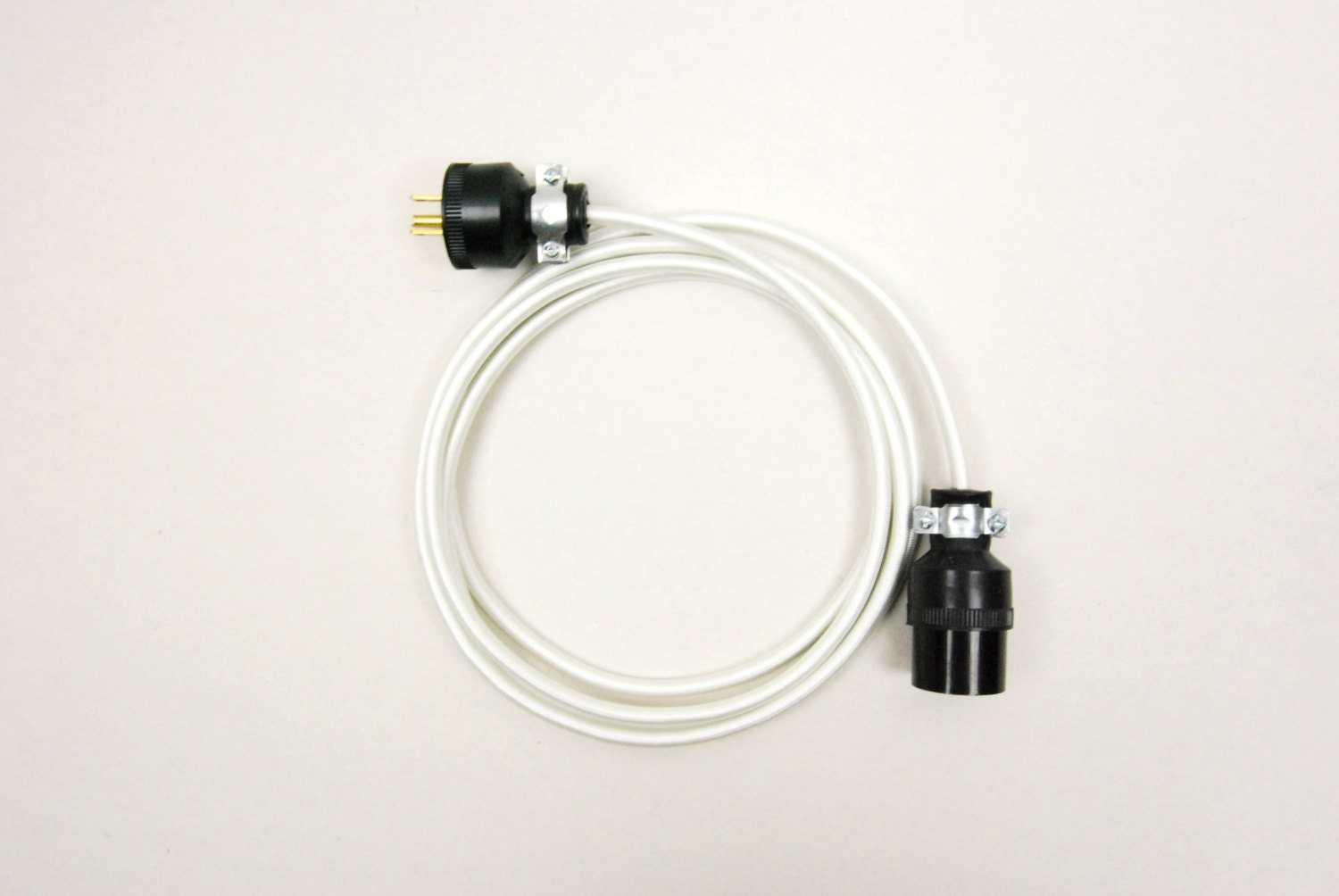 Cloth-Covered Extension Cord Round Nylon