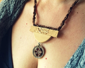 Eucalyptus Necklace-Jewelry Collection Natural elements