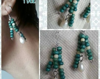 Tube earrings OC16