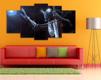 Dark Souls Art, Dark Souls, Games Canvas, Dark Souls Print, Action/RPG Art, Dark Souls Wall Art, Dark Souls Canvas, Dark Souls wall decor