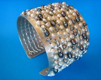The Jane J Pearl Cuff/Bangle