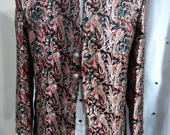 Men's custom Brocade jacket - 44
