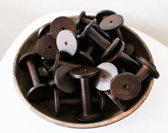 Wooden Spools for Ribbons, trims, twine and yarn.