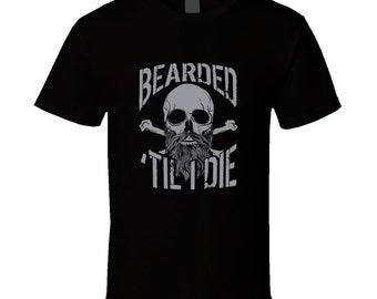 T-shirt de barbe. Tshirt de barbe. T-shirt de barbe pour lui ou elle. Idée de cadeau de barbe comme un cadeau de la barbe. Un grand t-shirt barbe